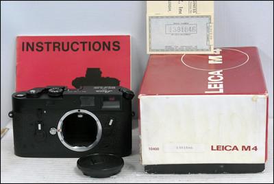 """徕卡 Leica M4 黑色 带包装(带""""C""""封)"""