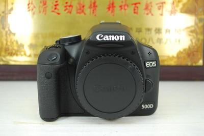 97新 佳能 500D 数码单反相机 千万像素 入门练手 可置换