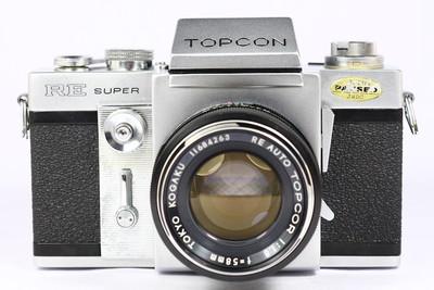拓普康 TOPCON RE SUPER 日产135单反相机 + 58/1.8 镜头 EXA口