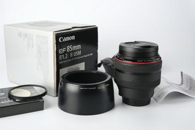 96新 UC开头一手自用带包装佳能 EF 85mm f/1.2 L II USM(大眼睛)