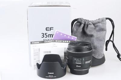 99新 佳能 EF 35mm f/2 IS USM