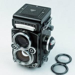禄来 Rolleiflex 2.8F 白脸 Xenotar镜头  蜥蜴真皮