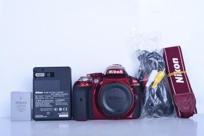 98新二手 Nikon尼康 D5300 单机 快门503次 (B3612)【京】