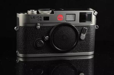 Leica M6 TTL 大盘 钛版 0.72