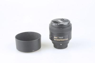 98新 尼康 AF-S NIKKOR 85mm f/1.8G