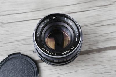 Minolta AUTO ROKKOR-PF 55mm f1.8其他