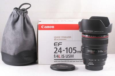 98/佳能 EF 24-105mm f/4L IS USM 成色极新(全套包装)