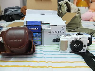 奥林巴斯 E-PL2+14-150镜头