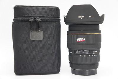 95新带原装软袋适马24-70mm f/2.8 EX DG (佳能卡口)24-70 2154