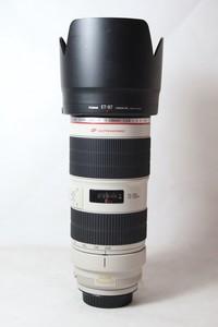96新二手Canon佳能 70-200/2.8 L IS II USM小白兔(T10321)【津】