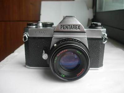 极新白色珠江宾得K1000相机带50mmf1.7MC镜头,收藏使用上品