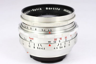 梅耶 Meyer Primagon 35/4.5 镜头 EXA口 德产 1Q 红V