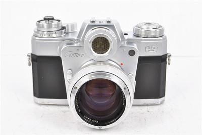 carl zeisss蔡司 独眼龙/牛眼机+50/1.4 标准镜头. 胶片套机 二手