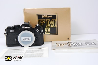 99新尼康 Nikon FM2 黑色机身带包装(BG07130001)