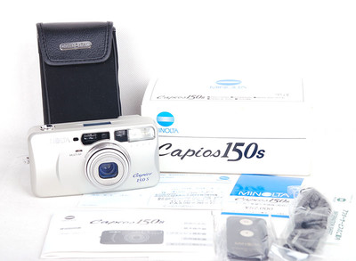 【库存品】美能达 capios 150s 银色胶片机 #jp17518