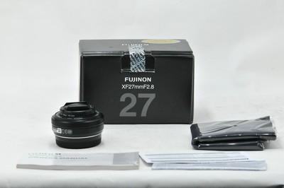 【情迷海印店】【全包装 行货】富士EBC XF 27/2.8 黑(NO:2005)