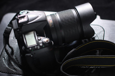 尼康 D90  18-135 镜头