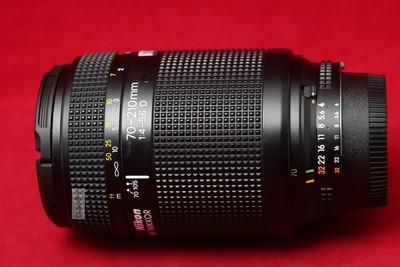 NIKON 尼康 AF 70-210 70-210/4-5.6D 实物拍摄 好成色
