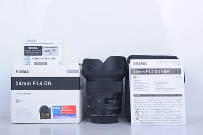11新二手 Sigma适马 24/1.4 DG Art 尼康口(B4256)【京】