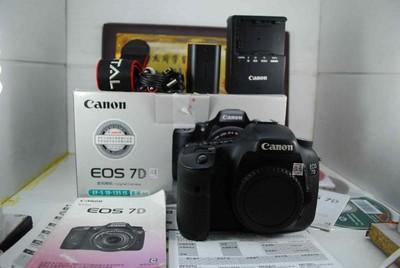 佳能 7D 数码单反相机 非全画幅专业 1800万像素 可置换