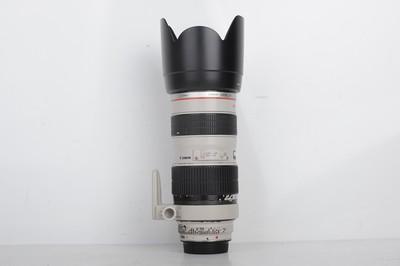 75新二手Canon千亿国际娱乐官网首页 70-200/2.8 L 小白变焦镜头(B0451)【亚】