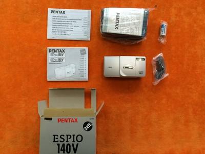 全新宾得pentax espio 140v 全自动变焦胶卷胶片相机 傻瓜相机