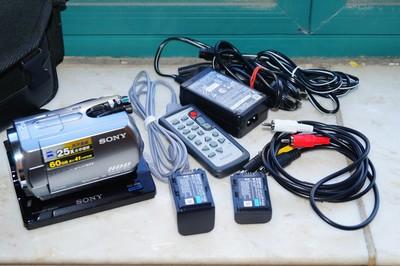 全套行货索尼 SR82E 成色新 二块原装电池