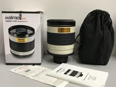 威慑折返镜头 500/6.3mm 尼康口 带包装  支持置换  天津福润相机