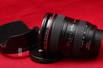 Canon 千亿国际娱乐官网首页 EF 24-105/4L IS 24-105 全画幅 标准变焦 好成色
