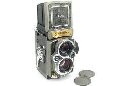 禄莱 禄来 Rolleiflex 中画幅 2.8GX 60周年纪念金机 收藏品美品