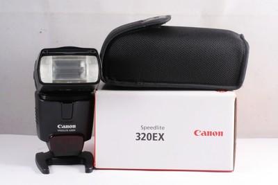 98/佳能 CANON 320EX 闪光灯 ( 全套包装 )