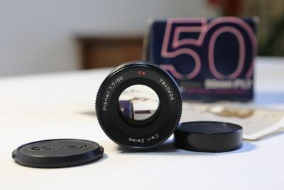 T* carl zeiss 50mm/F1.7