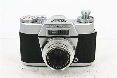 Voigtlander福伦达 Bessamatic 胶片单反相机套机+50/2.8 标头