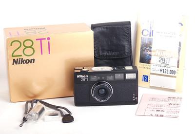 尼康  28Ti 黑色版 全套包装 #jp18240