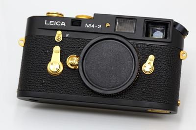 【情迷海印店】【极度稀有收藏品】徕卡 M4-2 黑金版 第4台