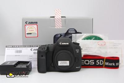 93新 佳能 5D Mark III 带包装(BG09240002)