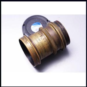 老镜头 铜头 rectiligne extra rapide H.DUPLOUICH-PARIS