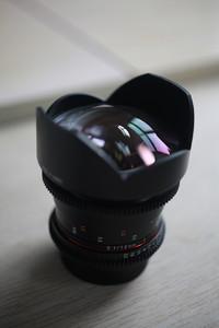 三洋 14mm T3.1 电影镜头 佳能口