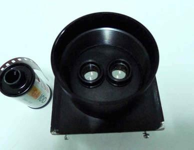 一个两分镜~原彩扩机用来打印两分相的 带铝合金镜头板50元