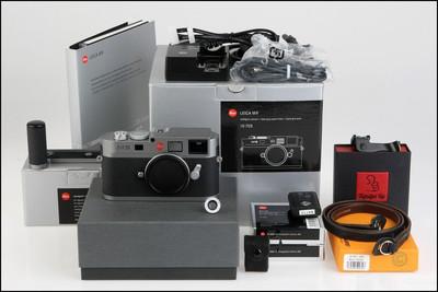 (全新无隐患CCD) 徕卡 Leica M9 钢灰 带包装 送超多附件