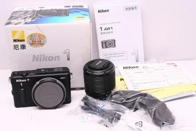 尼康AW1带尼康11-27.5 套机 尼康 AW1 防水 水下相机 99新 带包装
