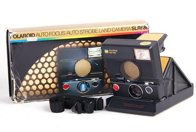 POLAROID宝利来 SLR 680 即拍即有相机 美品带包装 #jp17958