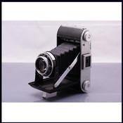 军旗 折叠机 ENSIGN RANGER II 105/3.8 镜头 皮腔机 老相机