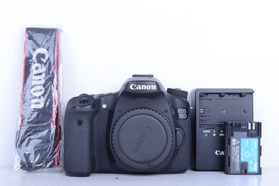 97新二手 Canon佳能 70D 单机 中端单反相机(B1894)【京】