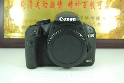 90新 佳能 500D 数码单反相机 千万像素 入门练手 可置换