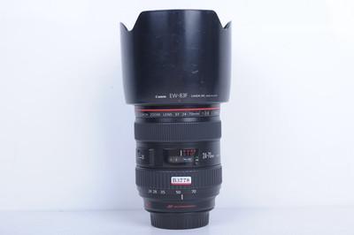 97新二手Canon佳能 24-70/2.8 L USM一代红圈镜头(B3778)【京】