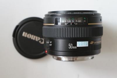 99新  佳能 EF 50mm f/1.4 USM#6747