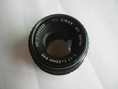 很新珠江金属制造50mmf1.7MC--MT镜头,PK卡口,收藏使用
