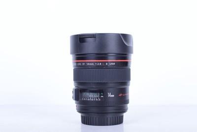 94新二手 Canon佳能 14/2.8 L II USM二代广角(B2502)【京】