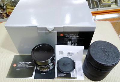Leica徕卡 NOCTILUX-M 50/0.95 ASPH 成色如新全套包装